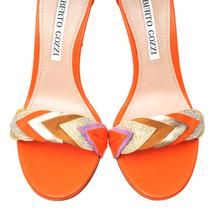 Босоножки женские  Цвет:оранжевый Артикул:0260619 2