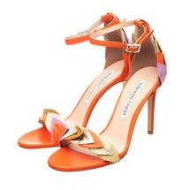 Босоножки женские  Цвет:оранжевый Артикул:0260619 1
