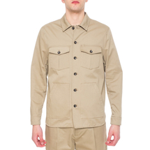 Рубашка мужская PAOLO PECORA Цвет:бежевый Артикул:0977830 1