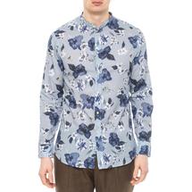 Рубашка мужская PAOLO PECORA Цвет:голубой Артикул:0977938 1