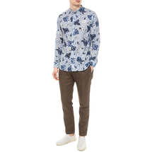 Рубашка мужская PAOLO PECORA Цвет:голубой Артикул:0977938 2