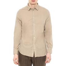 Рубашка мужская  Цвет:бежевый Артикул:0977985 1