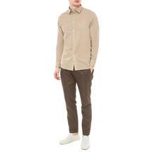 Рубашка мужская  Цвет:бежевый Артикул:0977985 2