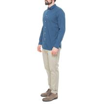 Рубашка мужская  Цвет:бирюзовый Артикул:0977985 2