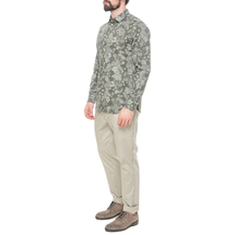 Рубашка мужская  Цвет:хаки Артикул:0977987 2