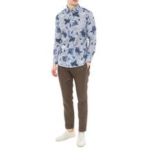 Рубашка мужская  Цвет:голубой Артикул:0977988 2