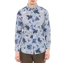 Рубашка мужская  Цвет:голубой Артикул:0977988 1