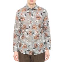 Рубашка мужская  Цвет:хаки Артикул:0977988 1