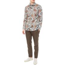 Рубашка мужская  Цвет:хаки Артикул:0977988 2