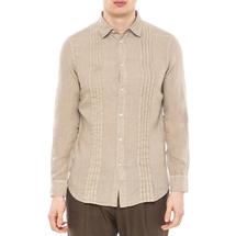 Рубашка мужская  Цвет:бежевый Артикул:0977989 1