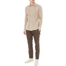 Рубашка мужская  Цвет:бежевый Артикул:0977989 2