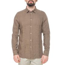 Рубашка мужская  Цвет:коричневый Артикул:0977989 1
