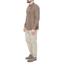 Рубашка мужская  Цвет:коричневый Артикул:0977990 2