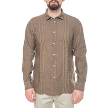 Рубашка мужская  Цвет:коричневый Артикул:0977990 1