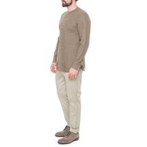 Рубашка мужская  Цвет:коричневый Артикул:0977991 2