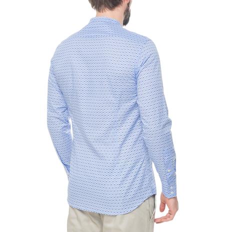 Рубашка мужская PAOLO PECORA Цвет:голубой Артикул:0977992 3