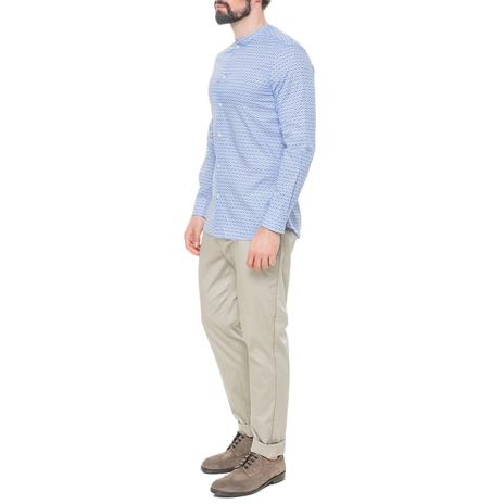 Рубашка мужская PAOLO PECORA Цвет:голубой Артикул:0977992 2