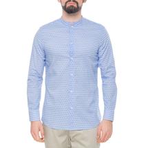 Рубашка мужская  Цвет:голубой Артикул:0977992 1