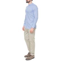 Рубашка мужская  Цвет:голубой Артикул:0977992 2