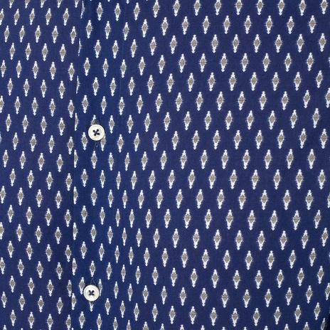 Рубашка мужская PAOLO PECORA Цвет:синий Артикул:0977992 4
