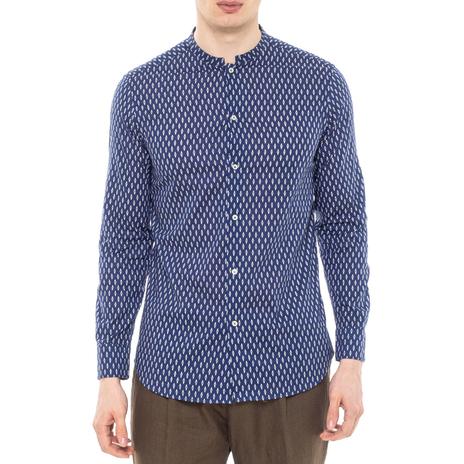 Рубашка мужская PAOLO PECORA Цвет:синий Артикул:0977992 1