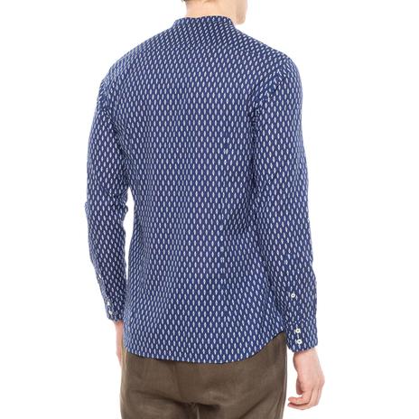 Рубашка мужская PAOLO PECORA Цвет:синий Артикул:0977992 3