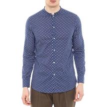 Рубашка мужская  Цвет:синий Артикул:0977992 1
