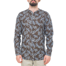 Рубашка мужская  Цвет:коричневый Артикул:0977993 1