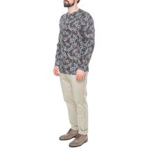 Рубашка мужская  Цвет:коричневый Артикул:0977993 2