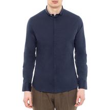 Рубашка мужская  Цвет:синий Артикул:0977994 1