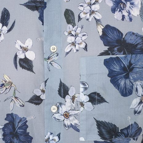 Рубашка мужская PAOLO PECORA Цвет:голубой Артикул:0977995 4
