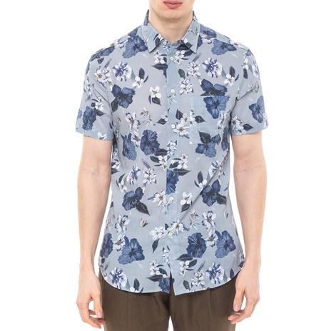 Рубашка мужская PAOLO PECORA Цвет:голубой Артикул:0977995 1