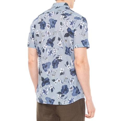 Рубашка мужская PAOLO PECORA Цвет:голубой Артикул:0977995 3