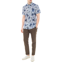 Рубашка мужская  Цвет:голубой Артикул:0977995 2