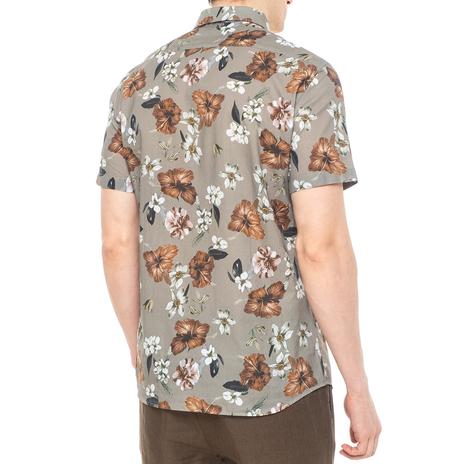Рубашка мужская PAOLO PECORA Цвет:хаки Артикул:0977995 3