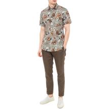 Рубашка мужская  Цвет:хаки Артикул:0977995 2