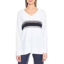 Пуловер женский  Цвет:белый Артикул:0574940 1