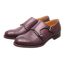 Полуботинки мужские  Цвет:фиолетовый Артикул:0359666 1
