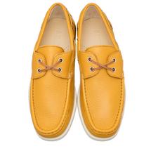Топсайдеры мужские  Цвет:желтый Артикул:0359682 2