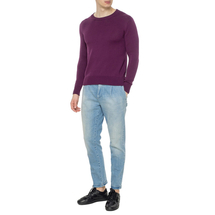 Джемпер мужской  Цвет:фиолетовый Артикул:0977892 2