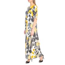 Платье женское  Цвет:желтый Артикул:0577645 2