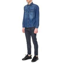 Рубашка мужская  Цвет:синий Артикул:0978077 2