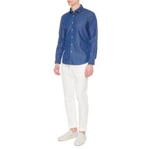 Рубашка мужская  Цвет:синий Артикул:0978078 2