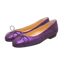 Балетки женские  Цвет:фиолетовый Артикул:0262008 1