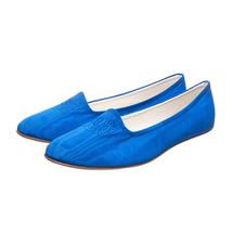 Балетки женские  Цвет:синий Артикул:0262010 1