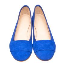 Балетки женские  Цвет:синий Артикул:0262015 2