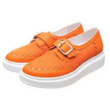 Слипоны женские  Цвет:оранжевый Артикул:0262059 1