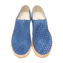 Слипоны женские  Цвет:синий Артикул:0261960 2