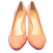 Туфли женские  Цвет:коралловый Артикул:0262044 2