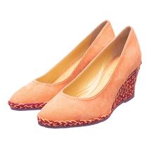 Туфли женские  Цвет:коралловый Артикул:0262044 1